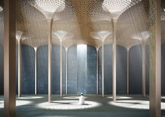 Amanda Levete has won an invited competition to create a mosque as part of the Foster + Partners-designed World Trade Center Abu Dhabi development