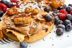 breakfast waffle cakes