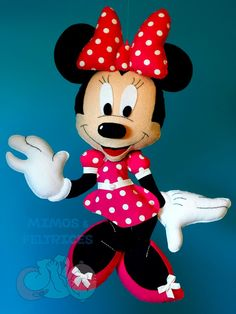 Mimos e Feltrices: Minnie Mouse ♥
