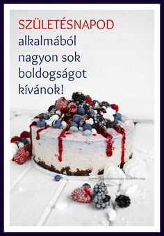 _ Happy Brithday, Name Day, Birthday Cards, Birthdays, Desserts, Food, Birthday, Happy Aniversary, Tailgate Desserts