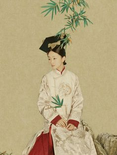 Traditional Chinese fashion in Qing dynasty