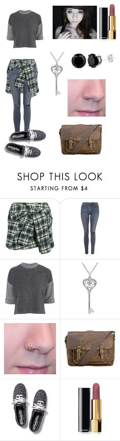"""""""~ohh~"""" by kawiwi on Polyvore featuring beauty, Faith Connexion, Topshop, Amanda Rose Collection, Patricia Nash, Keds and Chanel"""