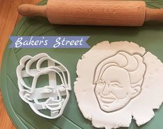 Excited to share this item from my shop: Custom Portrait Cookie Cutter l Personalized cookie cutter l Custom gift l Face l Christmas l Birthday l Wedding Unique Birthday Gifts, Unique Gifts, Handmade Gifts, Wedding Gift Messages, Personalized Cookies, Logo Cookies, Custom Cookie Cutters, Baker Street, Gift Certificates