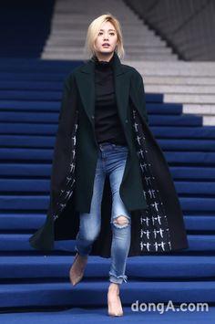 Nana during Fashion Week