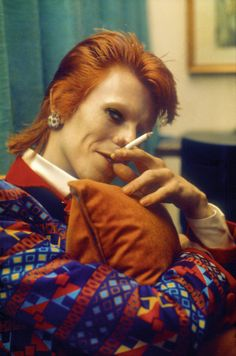 David Bowie par Mick Rock dans l'ouvrage Mick Rock. The Rise of David Bowie