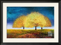 Dreaming Trio Art Print by Melissa Graves-Brown at Art.co.uk