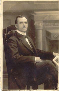 Un riche homme d'affaires danois en 1900