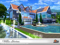 Villa Sivisa  Found in TSR Category 'Sims 4 Residential Lots'