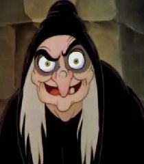 Ben wants to be the witch from Snow White this year.  Seriously?? How do I do this?