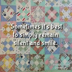 Happy Monday,  everyone!  Smiling because I am home. Life is good!  Vintage 9-patch quilt found in Kentucky this past week. Love the shoddy muted colors.  #quilt #quilting #patchwork #quiltville #bonniekhunter #vintagequilt #antiquequilt #deepthoughts #wisewords #wordsofwisdom #quiltvillequote #inspiration