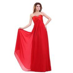 Elegant Sweetheart A-line Floor Length Beaded Chiffon Evening Dress (Custom-made, Red) Lemandy http://www.amazon.co.uk/dp/B00G8YRDY8/ref=cm_sw_r_pi_dp_g2kiwb0AWYG8D