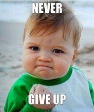 He says it like a boss! #neversaynever #KPU #persistence