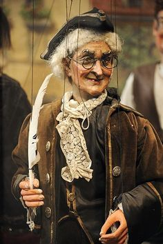 German marionette - German marionette --- #Theaterkompass #Theater #Theatre…