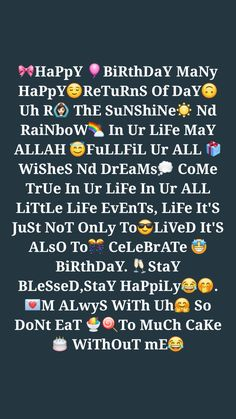 Beautiful Birthday Quotes, Happy Birthday Best Friend Quotes, Birthday Wishes For Brother, Wishes For Sister, Birthday Girl Quotes, Birthday Wishes Messages, Best Birthday Wishes, Birthday Caption For Brother, Sister Quotes