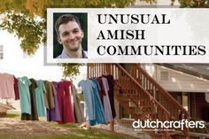You might be surprised to hear that Amish communities can and do differ. Erik Wesner, founder of amishamerica.com, a great source of information on everything Amish, contributes this guest blog about how practices among Amish communities vary. #amish #dutchcrafters