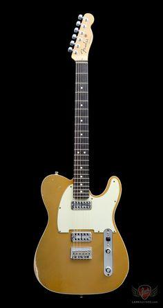 Fender Custom Shop Double TVJ Telecaster Relic - Gold