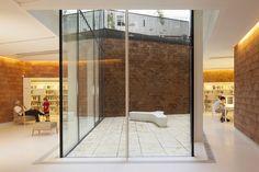 BIBLIOTECA JOAN MARAGALL, Barcelona, 2014 - BCQ arquitectura barcelona