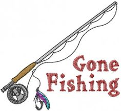 fishing quilt ideas | ... Embroidery Design: Gone Fishing from Machine Embroidery Designs