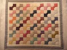 how cute is this old doll quilt