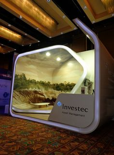 Investec Exhibition Stand at PSG 2013 by XZIBIT 6 | Flickr - Photo Sharing!
