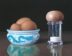 Hyperreal art tricks the eye  Canadian artist Jason de Graaf creates acrylic paintings so detailed that upon first glance the viewer may mistake the work for a still-life photograph.