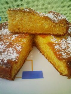Bizcocho de almendras y zanahorias. I don't know exactly what this is, but I am going to try it anyway. Healthy Recipes, Healthy Desserts, Sweet Recipes, Dessert Recipes, Almond Cakes, Sans Gluten, Sweet Bread, Cakes And More, Carrot Cake