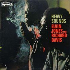 Elvin Jones And Richard Davis - Heavy Sounds (Vinyl, LP, Album) at Discogs