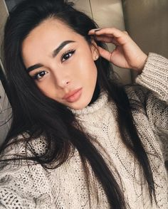 I wish I had her eyebrows :/ - Natural Makeup Light Beauty Make-up, Asian Beauty, Beauty Hacks, Hair Beauty, Asian Eyebrows, Blonde Eyebrows, Instagram Eyebrows, Straight Eyebrows, Straight Hair