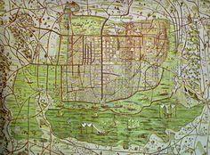 En esta guía digital encontrarás detalles históricos poco conocidos, dibujos de plantas y escenas de la vida cotidiana de la Ciudad de México del siglo XVI.