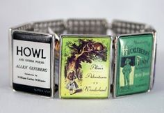 Banned book bracelet, I have this one! :D I bought at a bookstore in Leavenworth, WA.