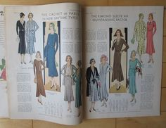 Spring 1930 Pictorial Review Quartly Fashion Pattern Book (72 pgs 1930s Magazine | eBay