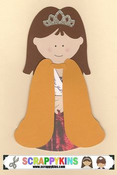 Miss Ohio Job's Daughter Scrapbook Doll - $7.00 (can be customized)