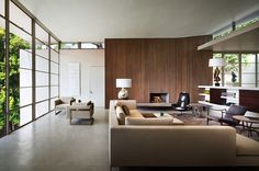 looks like Bond could live here - stylish living