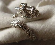 Online veilinghuis Catawiki: Vintage - zilveren grote draken ring