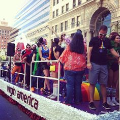 Our fabulous teammates are workin' it at San Francisco Pride.