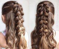 Fancy braids for Little girls