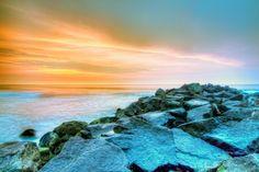 Jersey Shore sunrise  Ocean City, New Jersey