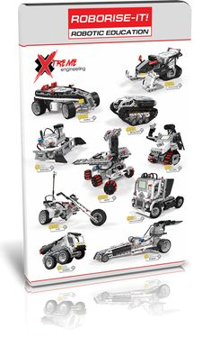 The Xtreme Engineering course is Mindstorms based. It includes building instructions, presentations, videos, tasks and programs Engineering Courses, Lego Mindstorms, Lego Robot, Cool Lego, Robotics, Arduino, Curriculum, Cool Stuff, Learning