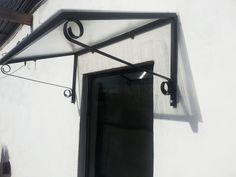 Aleros Para Puertas Y Ventanas En Hierro Y Policarbonato - $ 400,00 en MercadoLibre