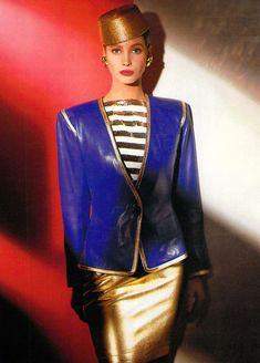 Yves Saint Laurent, Spring 1988