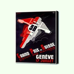 "Grand Prix de Suisse (20"" x 16"")"