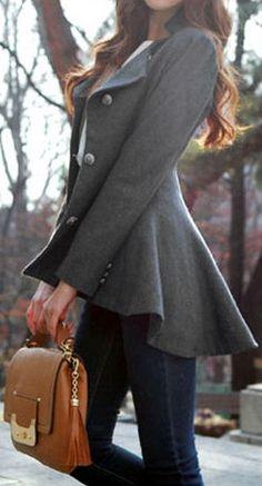 Love This Flare Coat ❤︎