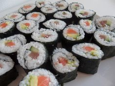 """Is sushi raw fish? The word """"sushi"""" refers to the type of rice used to make this traditional Japanese dish. You can use any kind. Vegan Foods, Vegan Dishes, Vegan Vegetarian, Sushi Recipes, Whole Food Recipes, Vegan Recipes, Dinner Recipes, Holiday Recipes, Vegan Protein Sources"""