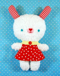free stuffie bunny pattern