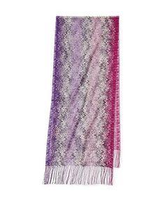 4d30304f657 65% OFF Missoni Women s Mini Zigzag Scarf (Purple)