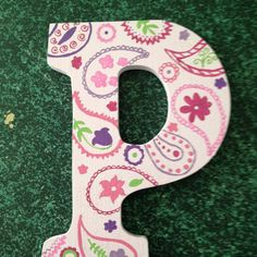 P for baby Paisley