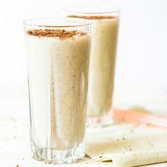 Cremiger Vanille-Eiweißshake