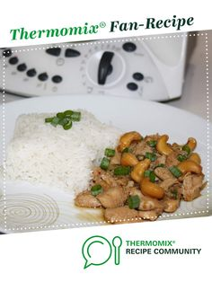 Recipe Chicken and Cashews - Thai Style by Tdaelman, learn to make this recipe easily in your kitchen machine and discover other Thermomix recipes in Main dishes - meat. Savoury Recipes, Meat Recipes, Asian Recipes, Cooking Recipes, Ethnic Recipes, Healthy Meals, Healthy Recipes, Quirky Cooking, Chicken Broccoli Casserole