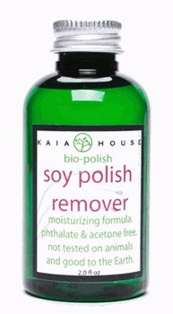 Soy Polish Remover from The Kind Life with Alicia Silverstone