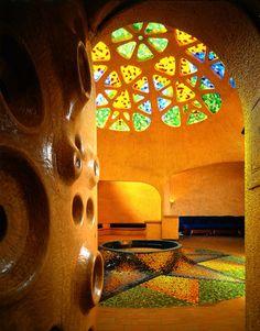 Javier Senosiain, Mexian architect ~ Casa Flor